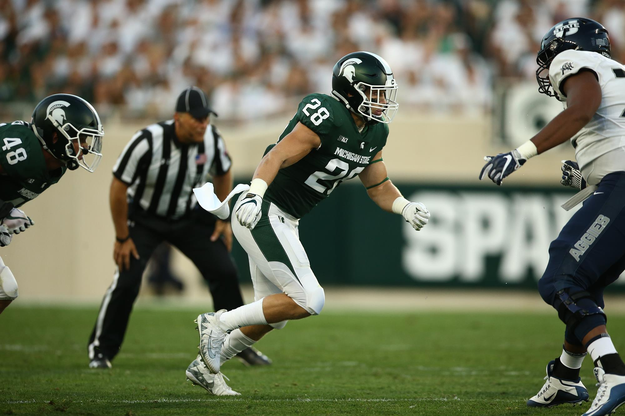 Jon Reschke Football Michigan State University Athletics