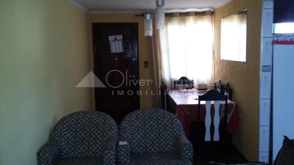 <![CDATA[Apartamento com 2 dormitórios à venda, 52 m² por R$ 180.000 - Conjunto Habitacional Presidente Castelo Branco - Carapicuíba/SP]]>