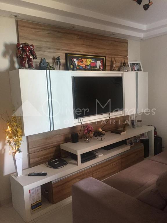 <![CDATA[Apartamento Duplex com 3 dormitórios à venda, 99 m² por R$ 489.000,00 - Jardim Santa Izabel - Cotia/SP]]>