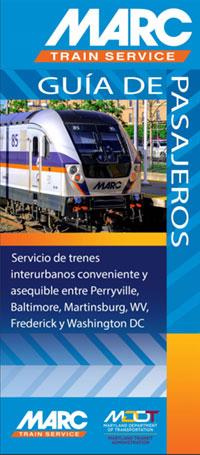 MARC Rider Guide brochure
