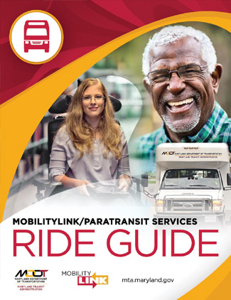 MDOT MTA Mobility Riders Guide