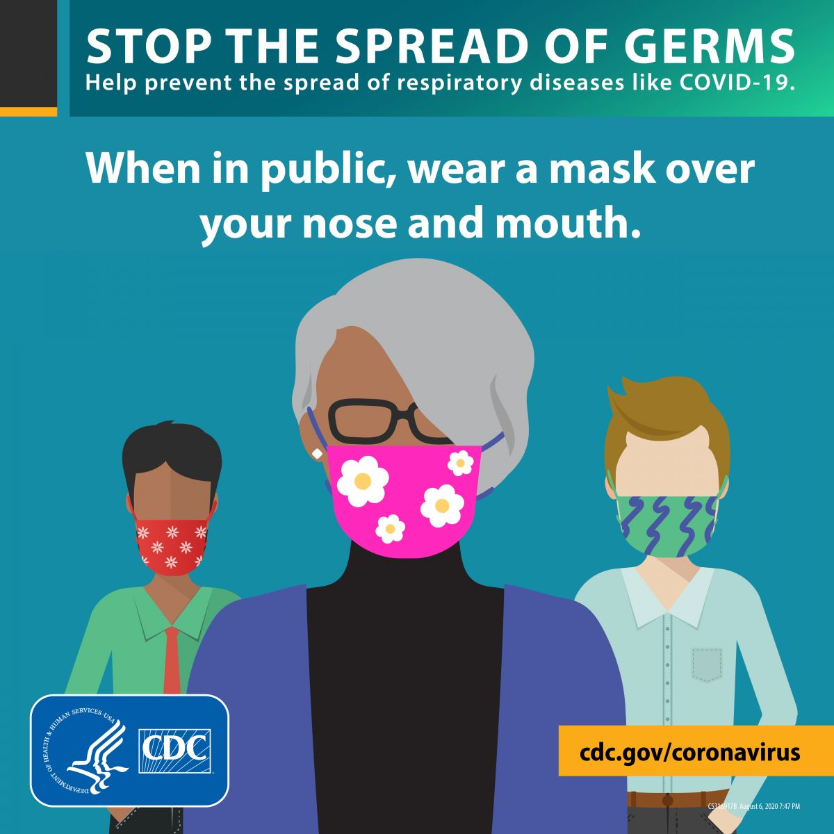 Wear a mask for everyone's safety