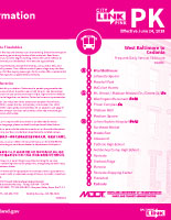 PDF Schedule for CityLink PINK