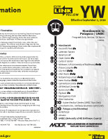 PDF Schedule for CityLink YELLOW