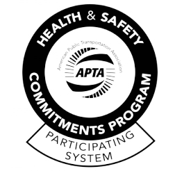 APTA Health and Safety Commitments Program logo