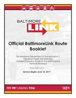 BaltimoreLink Route Booklet (50MB)