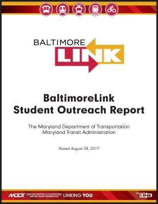 BaltimoreLink Student Outreach Report 2017