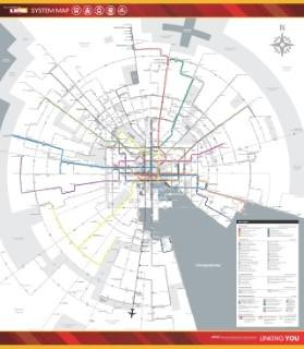 BaltimoreLink Abstract System Map at Launch