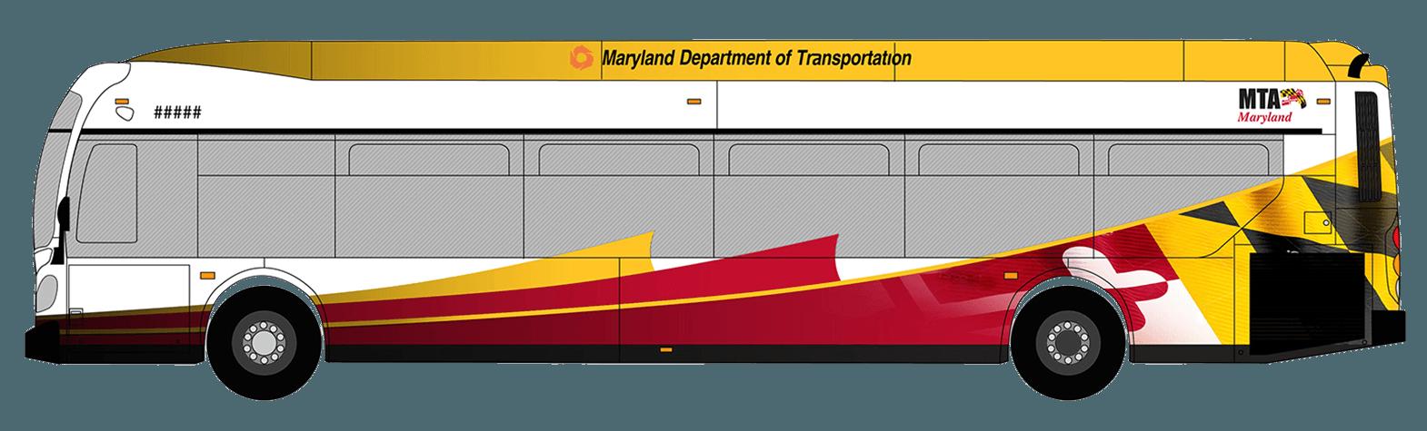Express BusLink Bus Wrap