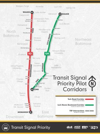 Transit Signal Priority Map