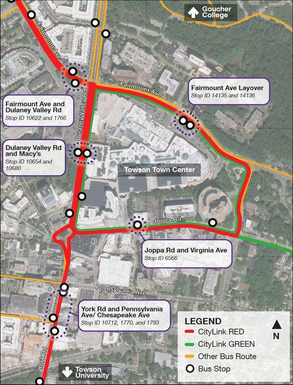 Phase I Map