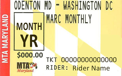 MARC Ticket Link