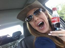 Coke and smile