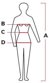 Montagne - Guía de talle mujer