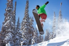 skiing and snowboarding near Missoula, Montana