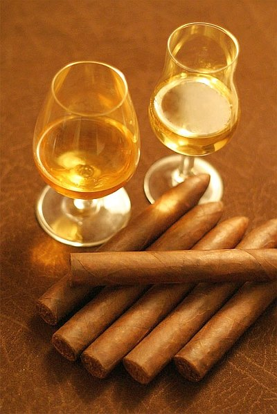 Cigars and Whiskey