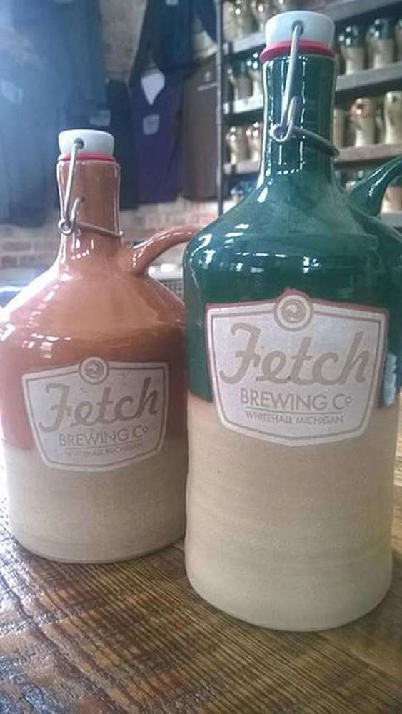 Fetch Ceramic Growlers
