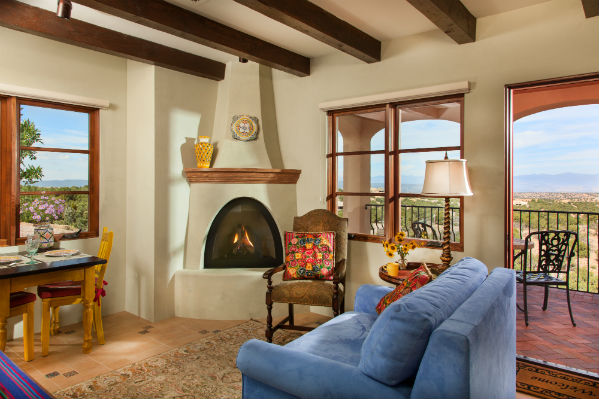 Santa fe vacation rental el farolito bed breakfast inn for Santa fe new mexico cabin rentals