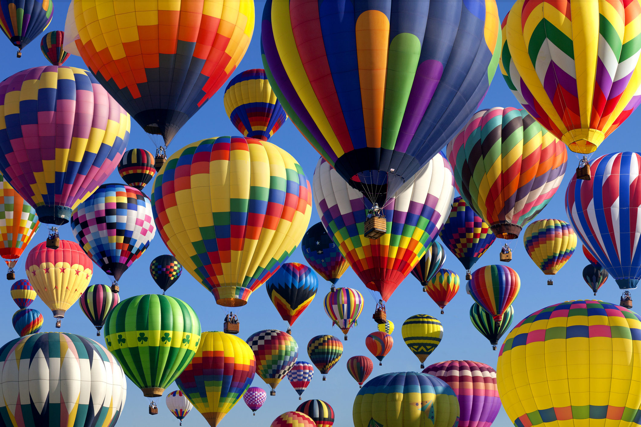 The albuquerque international balloon fiesta is one of the best events in the state el