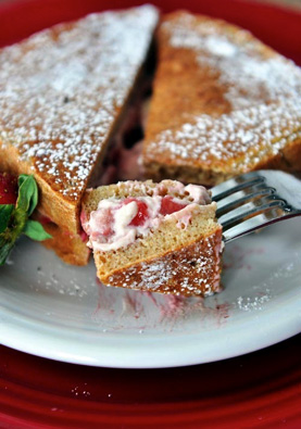 Strawberries_toast