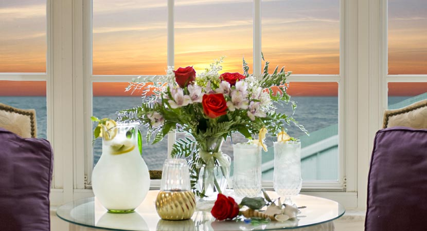 Romantic St. Martin Ocean View at Island Cottage Oceanfront Inn and Spa