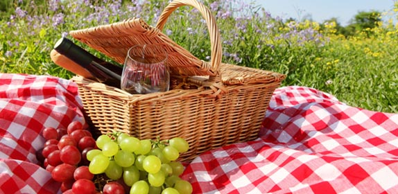 Picnic Baskets at Island Cottage Oceanfront Inn and Spa, Flagler beach, Florida