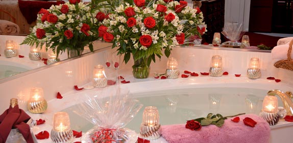 Romance and Roses at Island Cottage Oceanfront Inn and Spa, Flagler beach, Florida