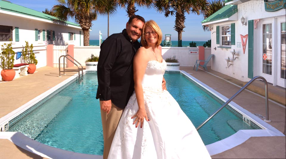 Elopements at Island Cottage Oceanfront Inn and Spa, Flagler beach, Florida