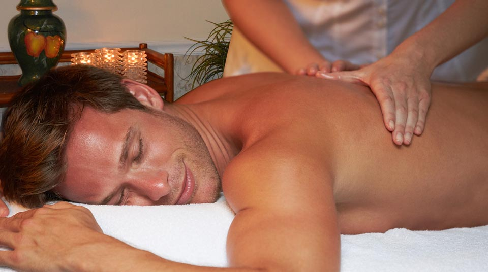 Deep Tissue massage at Island Cottage Oceanfront Inn and Spa, Flagler beach, Florida
