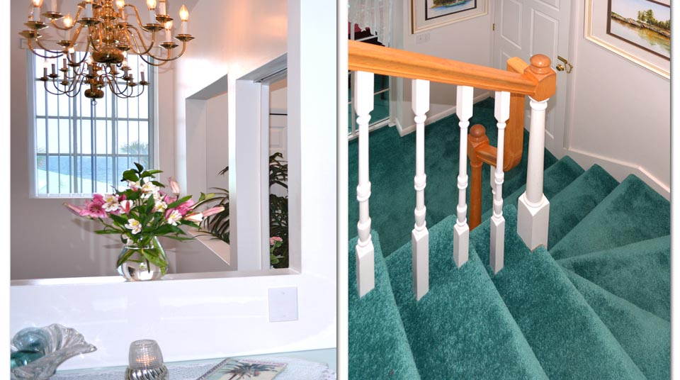 Island Cottage Oceanfront Inn and Spa Private Stairway, ...