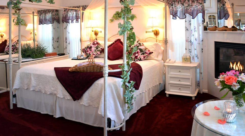 Romantic King Canopy at Island Cottage Oceanfront Inn and Spa, Flagler Beach, Florida