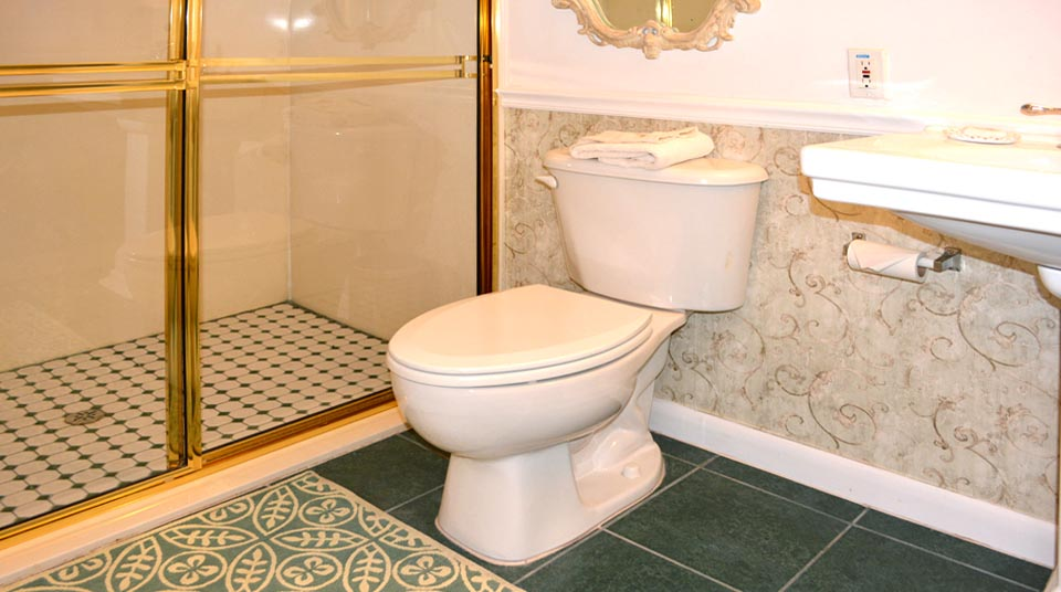 Bequia's Bathroom with Shower for Two