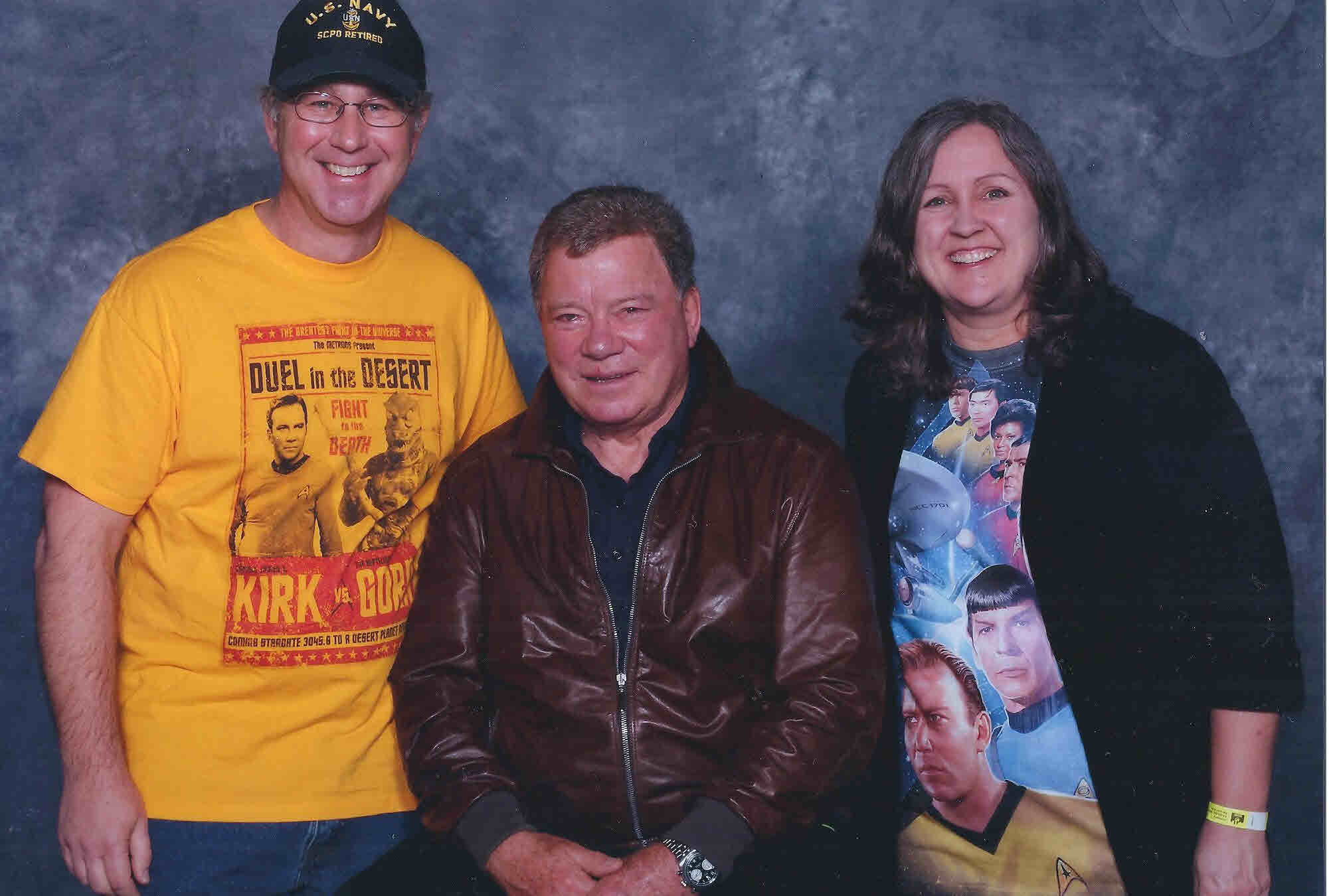 Guests with William Shatner