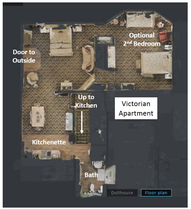 LR Vic Apt Floor Plan with Labels