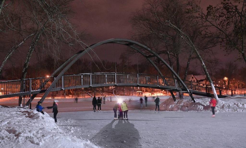 Madison Winter Tenney Park