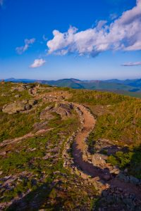 Hiking Trails in the Lakes Region, New Hampshire