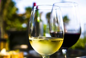 wine tasting at Lakes Region Wineries in New Hampshire