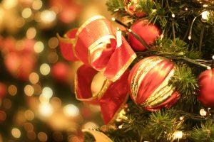Holiday season in Lakes Region, New Hampshire
