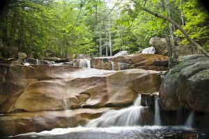 Diana's Baths Waterfall, a refreshing waterfall hike in New Hampshire
