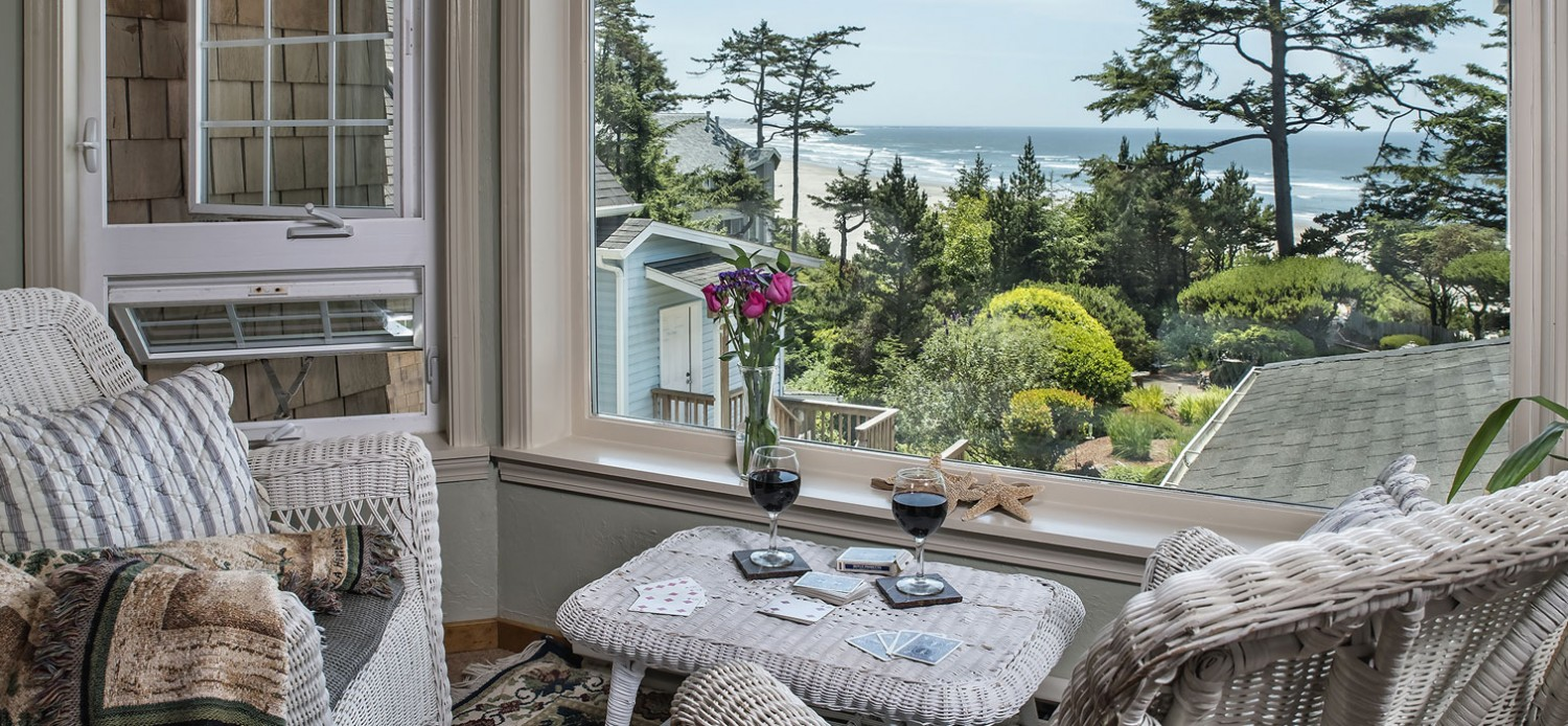 Newport bed breakfast ocean house on the oregon for A bed and breakfast