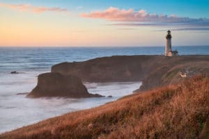 Historic Lighthouses Near our Newport, Oregon Bed and Breakfast