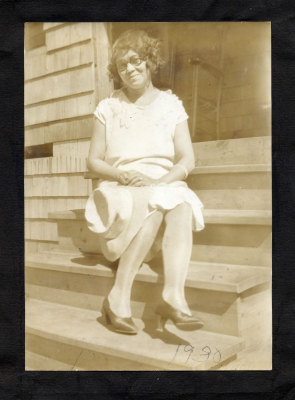 My grandmother Dolora around 1930. Many of her recipes, from her own mother, have been handed down in our family.
