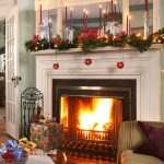 Parlor at Christmas Time rookwood inn lenox ma