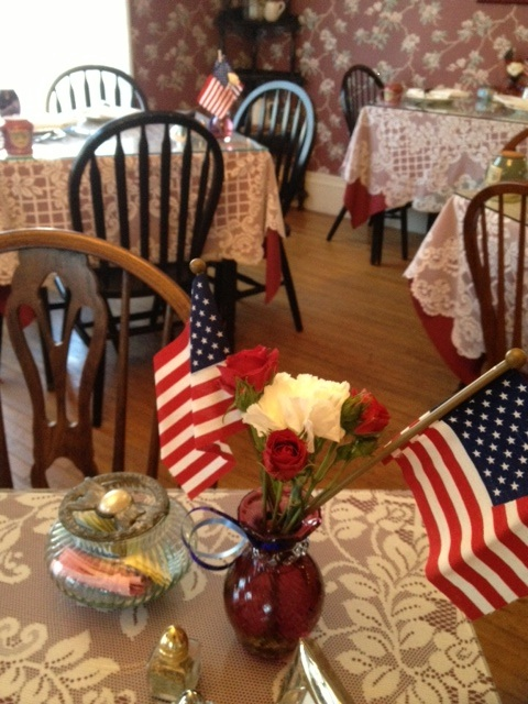Veteran's Day Dining Room 2012