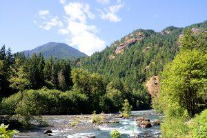 Elwha River Restoration near Sequim, Washington