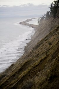 hike to Dungeness Spit In Winter