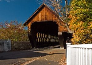 Covered bridges in the White Mountains