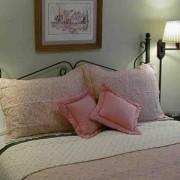 Main bedroom with comfy queen bed