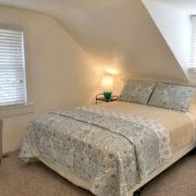 Comfy queen bed; 2nd floor bedroom