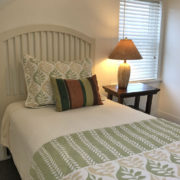 Petite bedroom w/twin bed on the 2nd floor